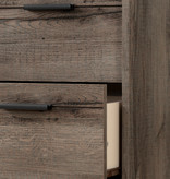 South Shore Fynn 6-Drawer Double Dresser, Fall Oak
