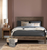 South Shore Fynn Full Platform Bed, Fall Oak