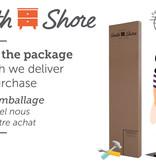 """South Shore Lit plateforme double (54""""), Chêne automnal, collection Fynn"""