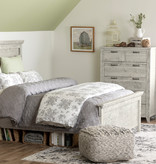 South Shore Lionel Queen Bed Set, Seaside Pine
