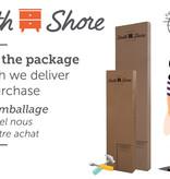 "South Shore Lit queen (60"") complet, Pin bord de mer, collection Lionel"