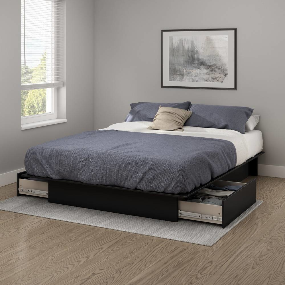 54 Best Images About Complete Bedroom Set Ups On Pinterest: Step One Full/Queen Platform Bed (54/60'') With Drawers