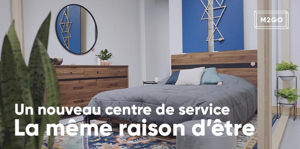 Un nouveau centre de service,  la même raison d'être