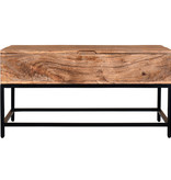 !nspire Ojas Lift Top Coffee Table, Natual Burnt