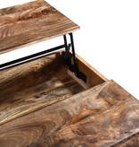 !nspire Ojas Lift Top Coffee Table, Natual Burnt
