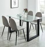 WHi Franco Dining Table, Black