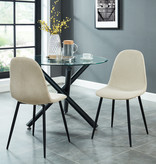 WHi Olly Side Chair, Beige