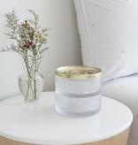 Umbra Boîte en verre, or, collection Tesora