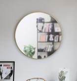 "Umbra Hubba Mirror 34"", Brass"