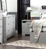 South Shore Reevo Dresser, Light Grey