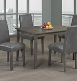 Titus 5 pcs Dining Set, Grey