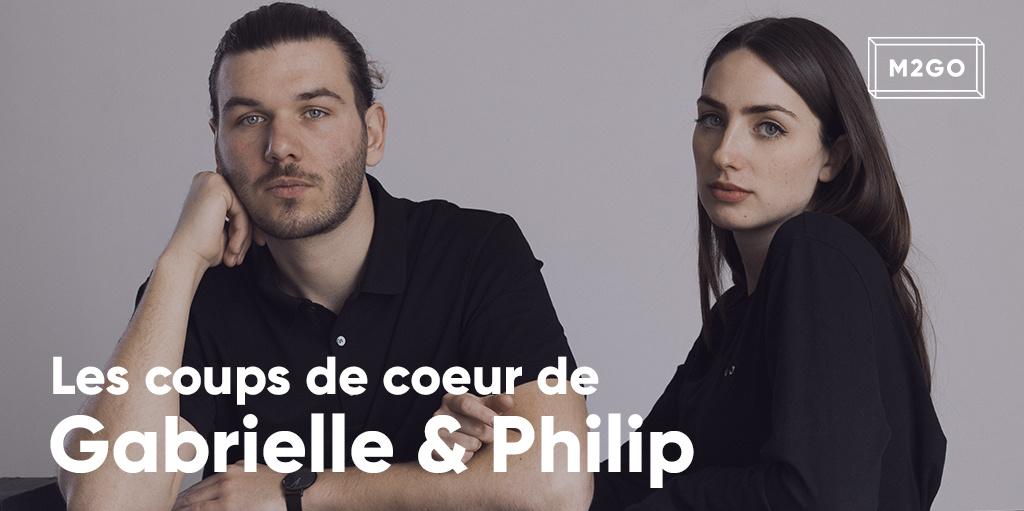 Les coups de coeur de Gabrielle et Philip
