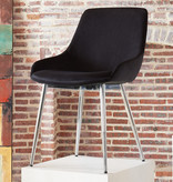 !nspire Cassidy Side Chair, Black