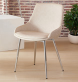 !nspire Cassidy Side Chair, Ivory