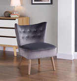 WHi Elle Accent Chair, Grey