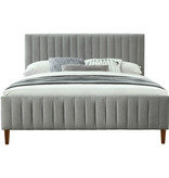 "!nspire Hannah King Size Bed (78""), Light Grey"