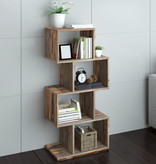 !nspire Idris Shelving Unit, Grey 2 Tone