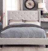 "!nspire Lino King Size Bed (78""), Ivory"