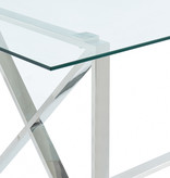 !nspire Lorenzo Dining Table, Silver