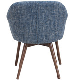 WHi Minto Accent Chair, Blue Blend