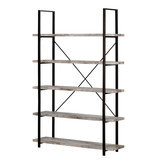 South Shore Gimetri 5-Shelf Shelving Unit, Driftwood Gray