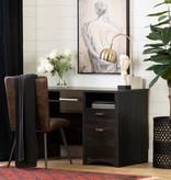 South Shore Gascony Desk, Rubbed Black