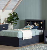 South Shore Navali 1-Drawer Nightstand, Blueberry