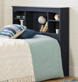 "South Shore Navali Twin Bookcase Headboard (39""), Blueberry"