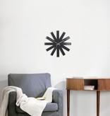 Umbra Ribbon Wall Clock Black