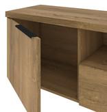 Bestar Auva TV Stand, 67-inch, Maple Brown
