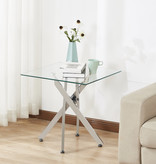 Titus Glass Accent Table