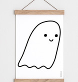 "Catherine Lavoie 18""x24"" Cute Little Ghost Art Print"