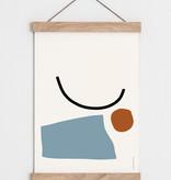 "Catherine Lavoie 18""x24"" Assemblage Art Print"