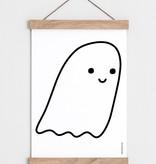 "Catherine Lavoie 12""x18"" Cute Little Ghost Art Print"