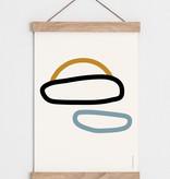 """Catherine Lavoie 12""""x18"""" Le ciel Art Print"""