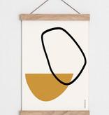 "Catherine Lavoie 12""x18"" Opposite Forms Art Print"