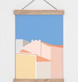 "Catherine Lavoie 12""x18"" Portugal Art Print"