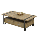 Titus Coffee Table, Distressed Oak