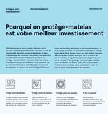 "Avanti Mysa Waterproof Full Size (54"") Mattress Cover"
