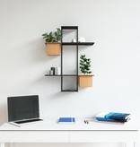 Umbra Cubist Multi Shelf, Sand and Black