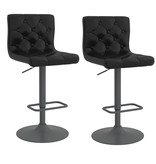 WHi Dex Air Lift Stool, Black