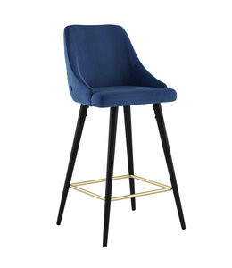 "!nspire Roxanne II 26"" Counter Stool, Blue"