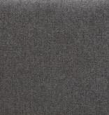 """!nspire Lit plateforme queen (60""""), gris charbon, collection Emilio"""