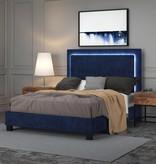 "!nspire Lumina Queen Size Platform Bed (60""), Blue"