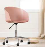 South Shore Flam Swivel Chair, Pink
