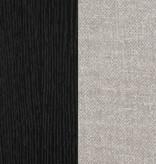 """South Shore Lit plateforme double (54"""") avec paniers Chêne noir et taupe, collection Flexible"""