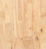South Shore Ensemble coiffeuse et tabouret en bois massif Bois naturel, collection Sweedi