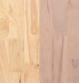 South Shore Ensemble coiffeuse et tabouret en bois massif Bois Rose, collection Sweedi