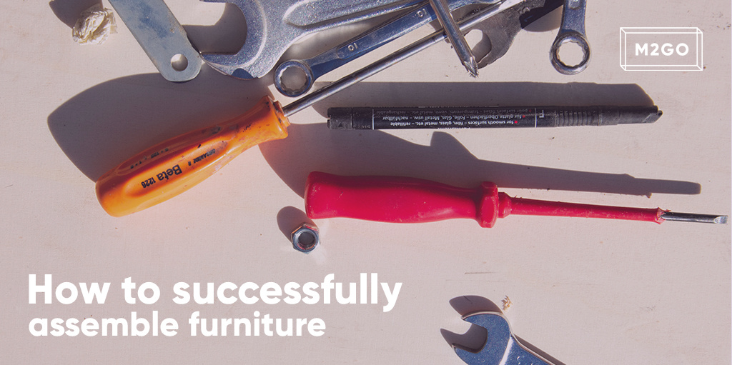 How to successfully assemble furniture