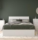 Nexera Ivory 4 Piece Full Size Bedroom Set, White